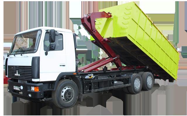 заказать вывоз мусора 20 кубов
